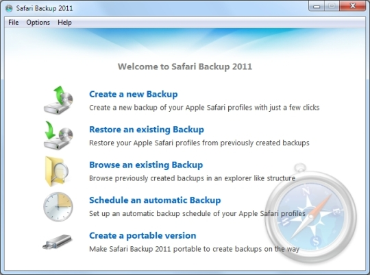 Safari Backup 2011
