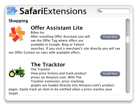 SafariExtensions