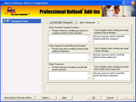 Safeguard Send for Outlook 2007/Outlook 2010 (32-bit)