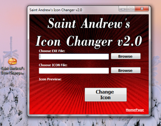 Saint Andrew's Icon Changer