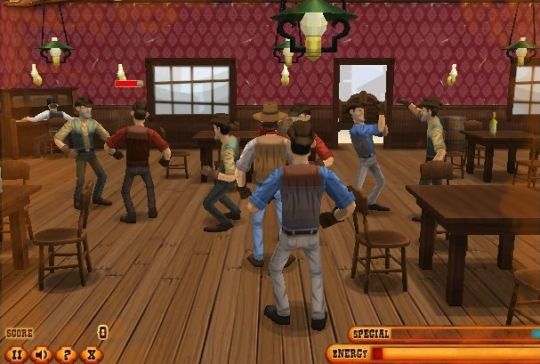 Saloon Brawl