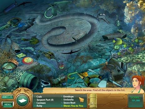 Samantha Swift 3 Atlantis game