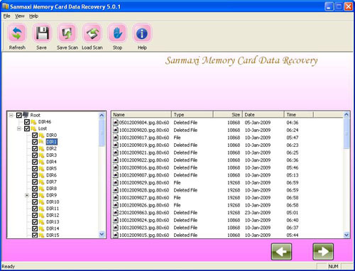 Sanmaxi Memory Card Data Recovery