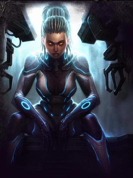 Sarah Kerrigan StarCraft 2 Screensaver