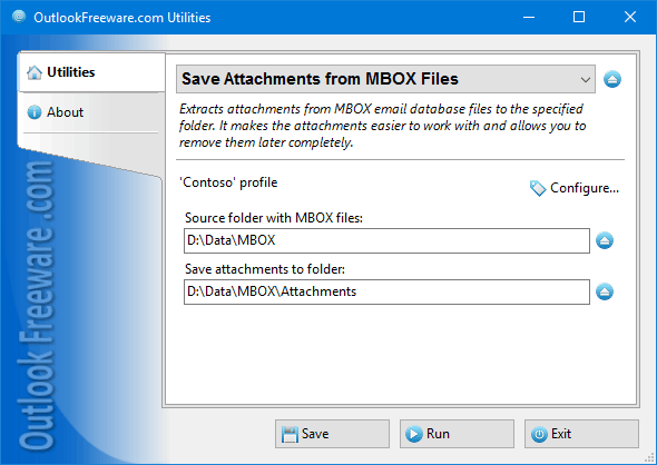 Save Attachments from MBOX Files