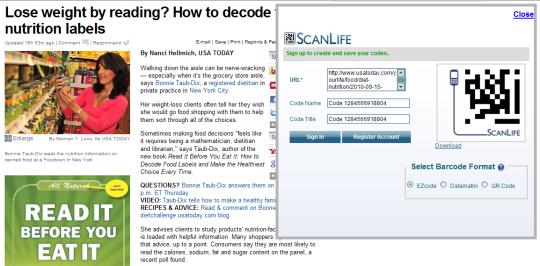 ScanLife for Internet Explorer