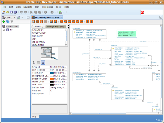 Schema Visualizer for SQL Developer