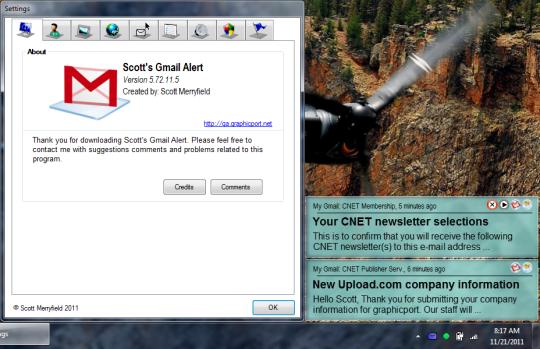 Scott's Gmail Alert