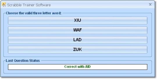 Scrabble Trainer Software