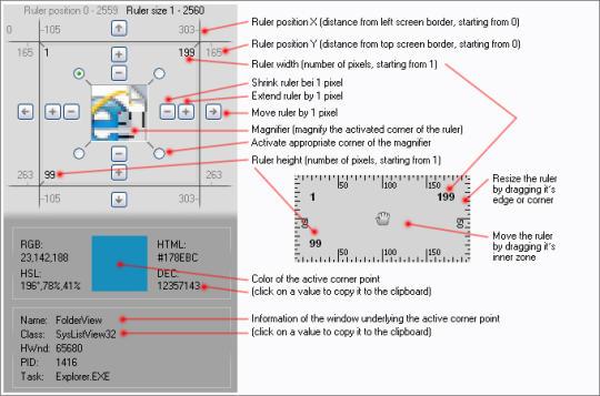 Screen Ruler 2D