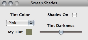 Screen Shades