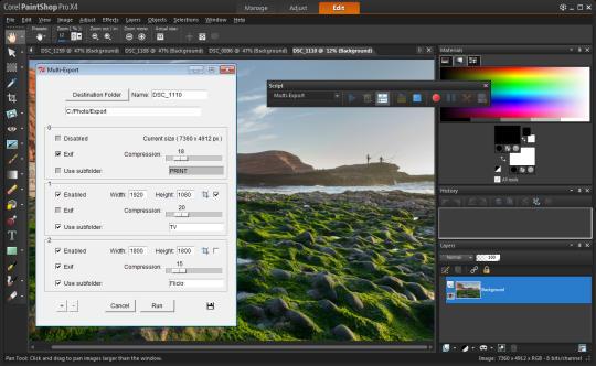 Script Arsenal for PaintShop Pro
