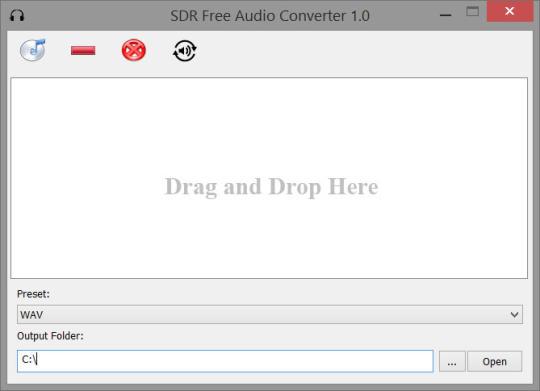 SDR Free Audio Converter