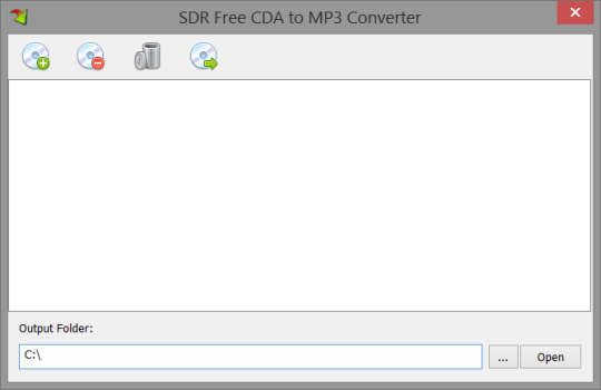 SDR Free CDA to MP3 Converter
