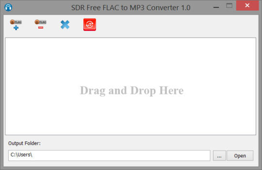 SDR Free Flac to MP3 Converter