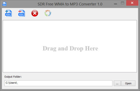 SDR Free WMA to MP3 Converter