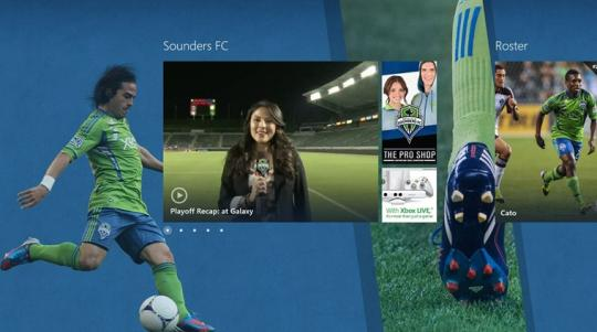 Seattle Sounders FC for Windows 8