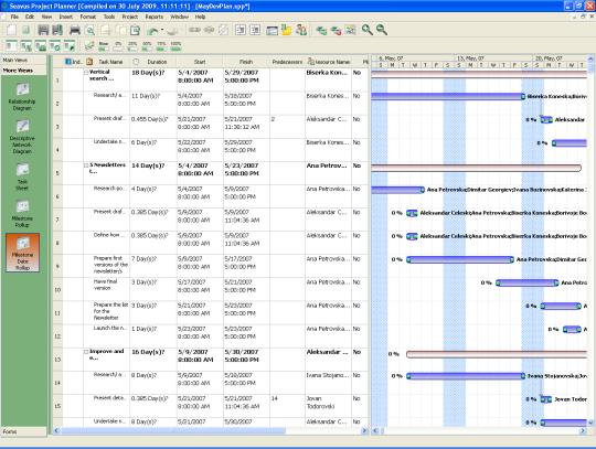 Seavus Project Planner