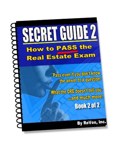 Secret Guide 2: How to Pass the Real Estate Exam