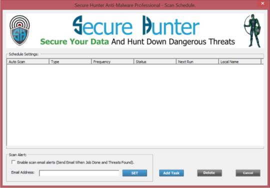 Secure Hunter Anti-Malware Professional Edition
