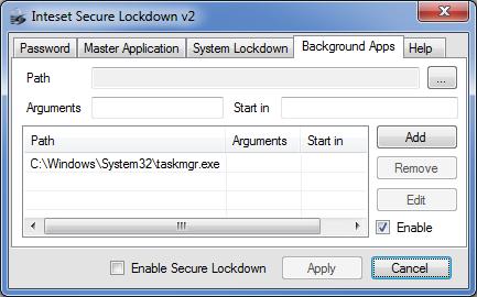 Secure Lockdown - Standard Edition