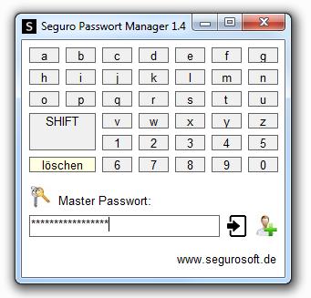 Seguro Passwort Manager
