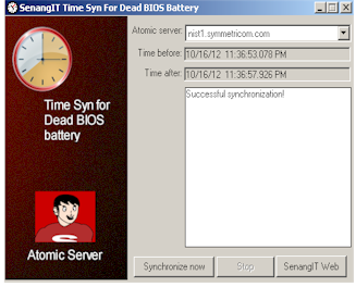 SenangIT Time Sync