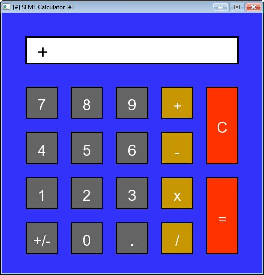 SFML Calculator