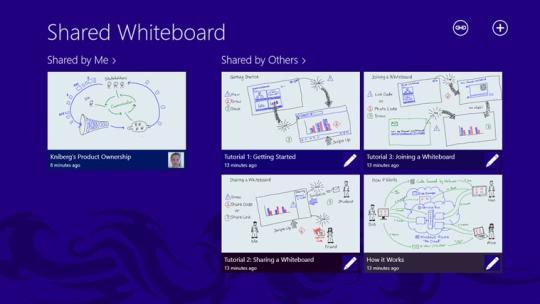 Shared Whiteboard for Windows 8