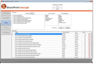 SharePoint Encrypt