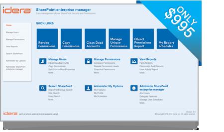 SharePoint Enterprise Manager