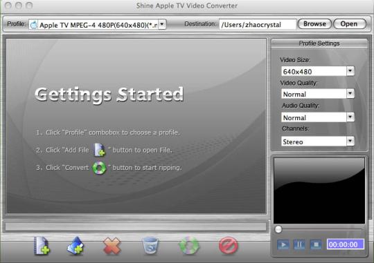 Shinesoft AVI to iPhone Converter for Mac