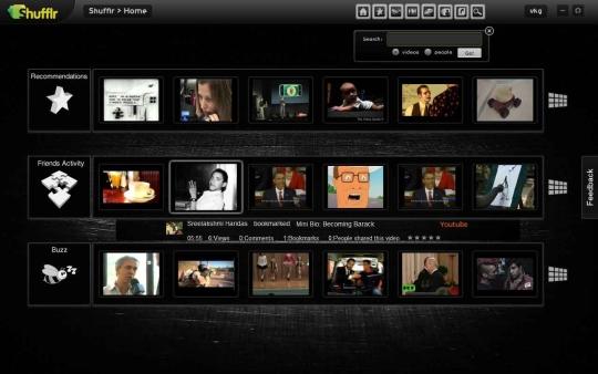 Shufflr Social Video Browser