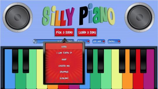 Silly Piano for Windows 8