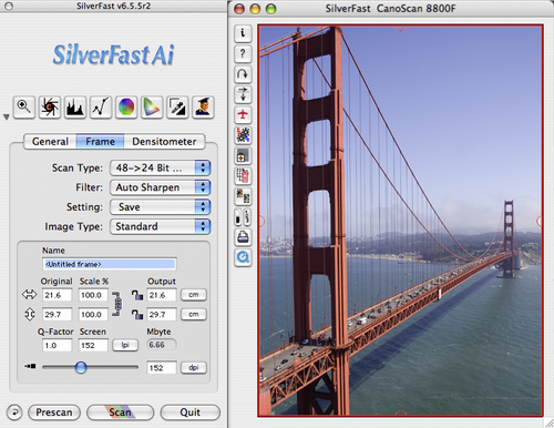 SilverFast Ai IT8 - CANON 2700F / FS2710 (Mac)