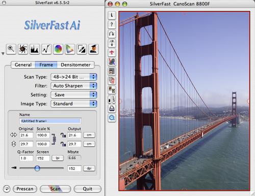 SilverFast Ai IT8 - KODAK RFS 3600 (Mac)