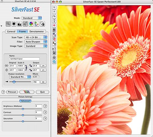 SilverFast SE Hewlett Packard (Mac)