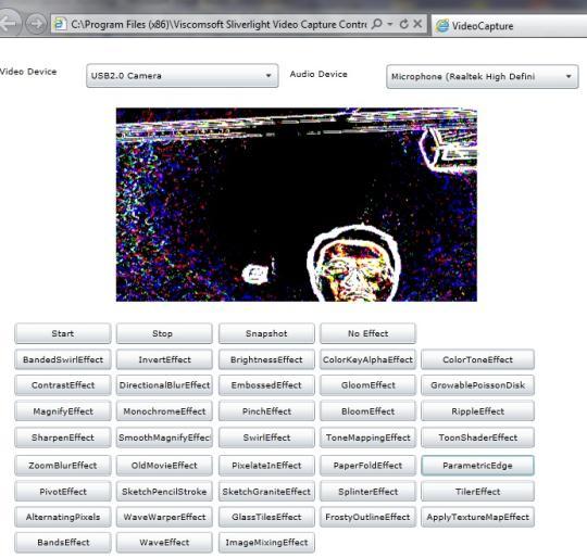 Silverlight .NET Video Capture SDK