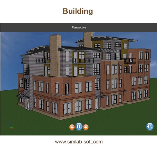 SimLab 3D PDF Exporter from SketchUp