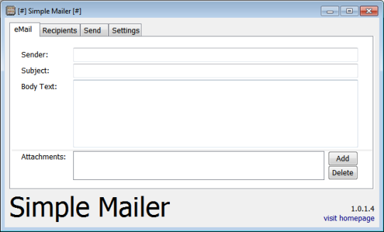 Simple Mailer