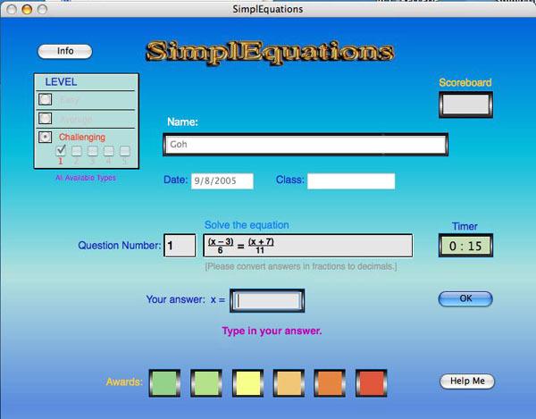 SimplEquations