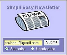 Simpli Easy Newsletter
