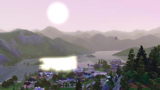 Sims 3: Hidden Springs