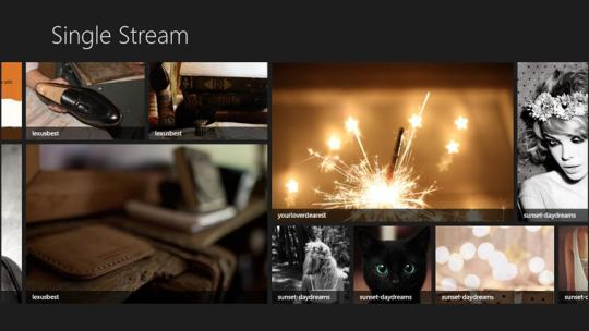 Single Stream for Windows 8
