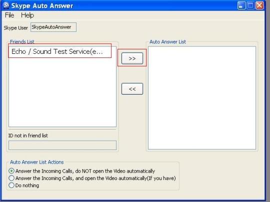 Skype Auto Answer