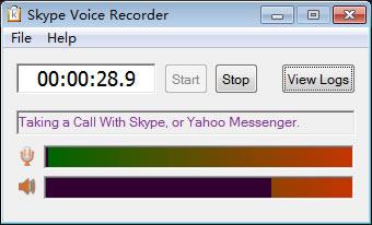 Skype Voice Recorder