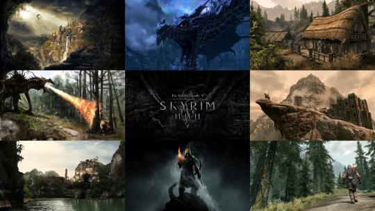 Skyrim Wallpapers Mega Pack HD