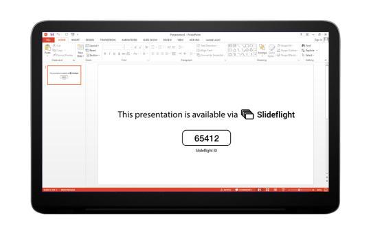 SlideFlight Presenter