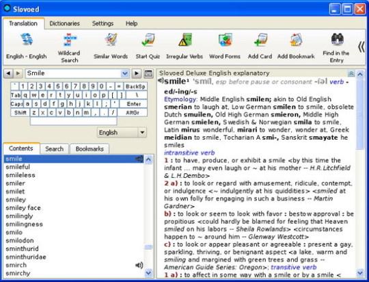 Slovoed Deluxe English Explanatory Dictionary