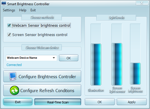 Smart Brightness Controller